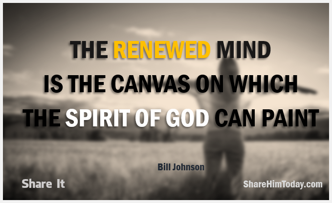 The Renewed Mind is the canvas